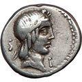 Roman Republic Circus Maximus Games Apollo Cult Horse Ancient Silver Coin i23609