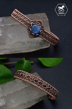 Kyanite and Tourmaline Copper Cuff, Copper Bracelet, Bracelet Clasps, Copper Jewelry, Wire Jewelry, Turquoise Bracelet, Cuff Bracelets, Healing Light, Hand Shapes