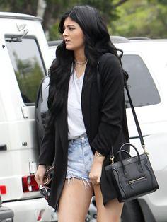 Kylie Jenner style // love the Céline Kylie Jenner 2014, Kylie Jenner Outfits, Trajes Kylie Jenner, Estilo Kylie Jenner, Kylie Jenner Style, Estilo Kardashian, Kardashian Style, Kourtney Kardashian, Casual Outfits