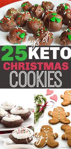 Keto Christmas cookies that make keto holiday desserts easy! The keto Christm. 25 Keto Christmas cookies that make keto holiday desserts easy! The keto Keto Christmas cookies that make keto holiday desserts easy! The keto Christm. Keto Desserts, Mini Desserts, Easy Holiday Desserts, Desserts Sains, Keto Holiday, Keto Friendly Desserts, Holiday Recipes, Dessert Recipes, Snacks Recipes
