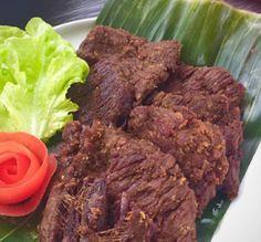Resep dan bahan-bahan yang dibutuhkan untuk membuat Empal Daging Sapi