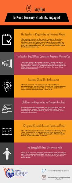 6 Easy Tips to Keep Nursery School Students Engaged