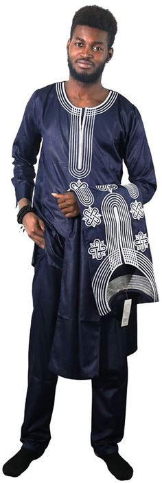 Bekleidung, Herren Dashiki Shirt, African Traditional Dresses, Traditional Outfits, Shirt Embroidery, African Men, Outerwear Jackets, Shirts, Mens Fashion, Mens Tops