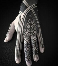 125 Best Hand Tattoos For Men: Cool Designs Ideas Guide) Tribal Hand Tattoos & Best Hand Tattoos For Men: Cool Hand Tattoo Designs and Ideas For Guys Source by Finger Tattoos, Tribal Hand Tattoos, Geometric Sleeve Tattoo, Hand Tattoos For Guys, Body Art Tattoos, Small Tattoos, Tatoos, Poke Tattoo, B Tattoo