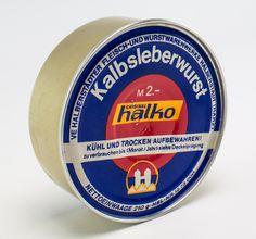 """DDR Museum - Museum: Objektdatenbank - """"Kalbsleberwurst"""" Copyright: DDR Museum, Berlin. Eine kommerzielle Nutzung des Bildes ist nicht erlaubt, but feel free to repin it!"""
