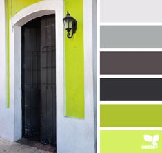 a door hues Color Palette by Design Seeds Colour Pallette, Colour Schemes, Color Patterns, Color Combinations, Grey Palette, Design Seeds, Coordination Des Couleurs, Color Me Beautiful, Colour Board