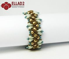 Beading Tutorial for Wave Bracelet with Zoliduo beads