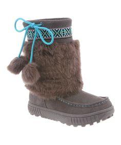 Gray Hope Boot - Kids
