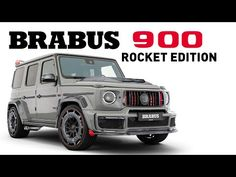 FASTER AND BOLDER - BRABUS 900 Rocket Edition in Stealth Grey - YouTube Benz G, Mercedes Benz, Motorcycle, Grey, Car, Youtube, Gray, Automobile, Motorcycles