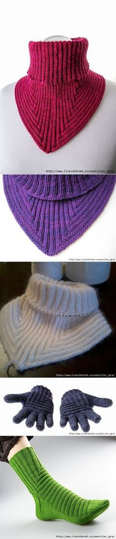 (Inspiration - see if I can crochet something like this. Knitted Shawls, Crochet Scarves, Crochet Shawl, Knit Crochet, Knitting Designs, Knitting Stitches, Free Knitting, Baby Knitting, Knitting Patterns