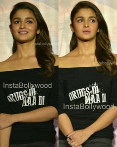 #udtapunjabtrailer  Alia Bhatt looked super cute black outfit usual At Udta Punjab Trailer Launch yesterday in Mumbai .@aliaabhatt #bollywood #india #indian #desi #punjabimedia #pollywood #udtapunjabtrailer #instantbollywood #Bollywoodstylefile #celebritystyle #Celebstyle  @BOLLYWOODREPORT  . For more follow #BollywoodScope and visit http://bit.ly/1pb34Kz