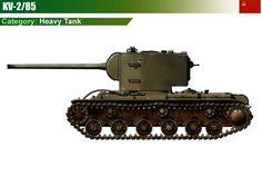 KV-2/85 Heavy Tank