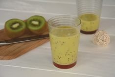 Smoothie mangue kiwi