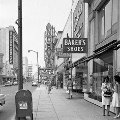 Granby St. in downtown Norfolk VA 1965