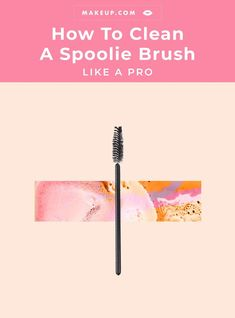 We asked Hourglass Global Make-up Artist Chanel Temple how you can clean spoolie brushes forward. #HourglassmakeupTutorials #HourglassmakeupAmbient #HourglassmakeupPowder #HourglassmakeupLipstick #HourglassmakeupBrushes #HourglassmakeupHighlights Makeup 101, Makeup Geek, Burts Bees Beauty, Makeup Lipstick, Eye Makeup, Hourglass Makeup, Performance Makeup, Beauty Soap, How To Clean Makeup Brushes