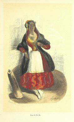 Image taken from page 447 of 'L'Espagne pittoresque, artistique et monumeatale. Mœurs, usages et costumes, par MM. M. de Cuendias et V. de F...