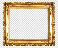 ゴールドに輝くクラシック油彩額のフレーム