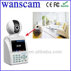 Wanscam(HW0029)-CMOS H.264 New Smart Indoor Wifi Mini IP Phone Call Camera
