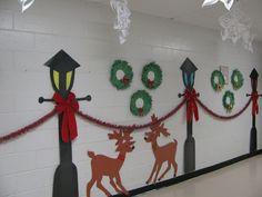 creative christmas classroom door - Google Search