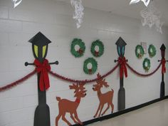 creative christmas classroom door - Google Search