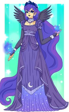 MLP - Princess Luna by Sailor-Serenity on DeviantArt