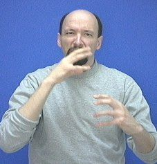 """mean"" American Sign Language (ASL) Sign Language Basics, Sign Language Phrases, Sign Language Alphabet, Learn Sign Language, British Sign Language, Language Lessons, Asl Words, Asl Signs, Deaf Culture"
