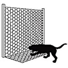 """Apron Fencing - Keep predators and rodents out of your chicken run with this unique fencing! The 12"""" apron is perect for keeping burrowing pests away from your flock. No trench is required, so you'll save yourself hours of backbreaking labor. Just bend the fence along the wire. Allow vegetation to grow up through the mesh along the ground and it'll be even more secure."""