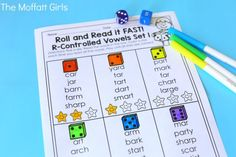Bossy R words can be tricky for beginning readers to learn. These NO PREP packets teach r-controlled vowels in a variety of ways!