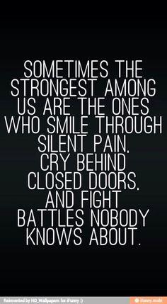 Strongest among us...
