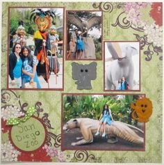 Scrapbook Sunday: San Diego Zoo