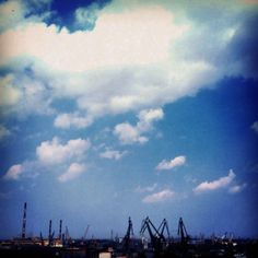 #gdansk #instagram #ilovegdn #cranes #shipyard