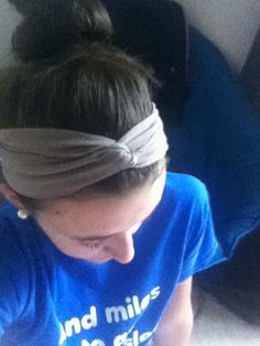 Homemade NO SEW headband