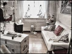 My home :) Annie Sloan, Chalk Paint, Shabby Chic, Couch, Diy, Furniture, Vintage, Shots, Home Decor