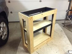 How to build your own vivarium or terrarium tank stand. Perfect for any reptile or amphibian owner who wants to make a custom stand out of wood. Not recommen...