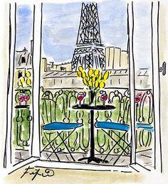 Fifi Flowers: Fête Nationale in Paris...