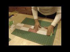 Patchwork: Cuadros y triángulos - www.trozicos.com
