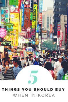 5 Things You Should Buy When in Korea http://lindagoeseast.com/2014/10/29/5-things-buy-when-in-korea/