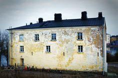 Suomenlinna - Old House in Suomenlinna Helsinki