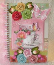 LaDeDa4UGeorgette Shabby Handmade Premade Chipboard Journal Album ELITE4U