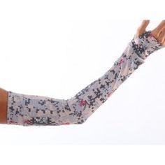 Desert Camp Digital Camo Print Compression Sleeves Arm Warmers
