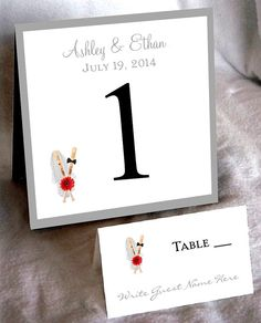 25 Baseball Table Numbers and 250 place by creatingapapermemory