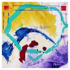 CARTOGRAPHIE 1-PARIS 80cmx80cm Techniques mixtes sur toile  Dans sa dernière série de toiles, Giacomo se fait cartographe de Paris par l'abstraction : la Seine, Bastille, les Buttes Chaumont et l'Île Saint Louis sont autant de lieux transfigurés dans cette géographie imaginaire...  A retrouver sur notre site : http://www.artup-deco.com/fr/121_giacomo