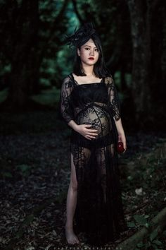 8b9c8b663ad Black Maternity Sexy Lace Dress - Maternity shoot. Courtney Parrish · Baby   3