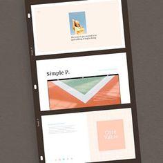 Some of the slides from 'Collect' presentation template🎞 . Ppt Design, Layout Design, Presentation Design, Presentation Templates, Free Ppt Template, Business Proposal, Layout Inspiration, Portfolio Design, Design Trends