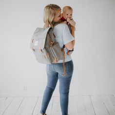 a170adbe9670 Birch Bag - Diaper Backpack in Gray