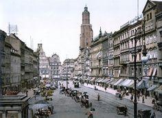 Breslauer Markt-Aufnahme zwischen 1890 und 1900.