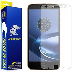 ArmorSuit - Motorola Moto Z Force / Moto Z Force Droid Anti-Glare Screen Protector w/ Lifetime Replacements - Full Coverage Anti-Bubble Matte MilitaryShield >>> Want additional info? Click on the image. (This is an affiliate link) #AccessoriesSupplies