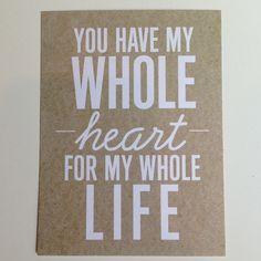 wedding-card - love the phrase