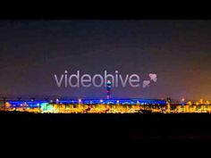 Stock Footage - Airport Night Time (+playlist)