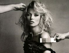 Photo shoot by Patrick Demarchelier. Model with a grey reference card Qp-Card (invention I made 1999) http://ccfoto.se